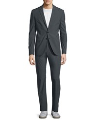 Cnc Costume National Slim Fit Two Piece Suit Smoke Gray Smoke Grey
