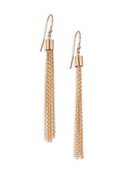Zoe Chicco 14K Yellow Gold Chain Tassel Earrings