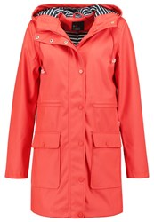 Evenandodd Waterproof Jacket Red Light Red