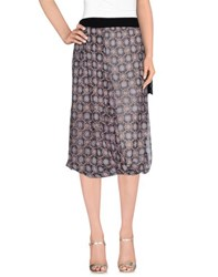 Pianurastudio Skirts 3 4 Length Skirts Women Lead