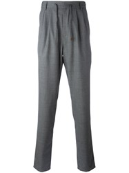 Brunello Cucinelli Drawstring Pants Grey