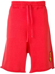 Vivienne Westwood Anglomania Drop Crotch Shorts Red