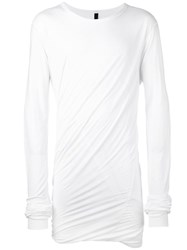 Army Of Me Extended Sleeve Sweatshirt White