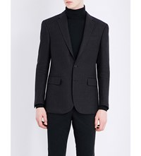 Polo Ralph Lauren Morgan Linen Blazer Charcoal Black