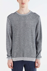 Cheap Monday Melange Crew Neck Sweater Navy