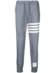 Thom Browne 4 Bar Swim Tech Sweatpants Grey