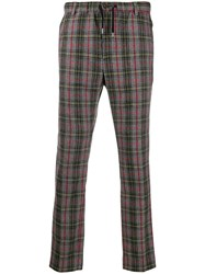 Daniele Alessandrini Check Pattern Regular Trousers 60