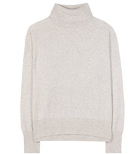 Closed Wool And Cashmere Blend Turtleneck Sweater Grey