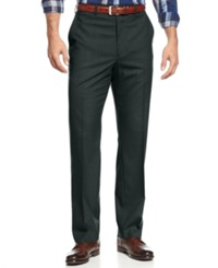Michael Michael Kors Flat Front Dress Pants Charcoal