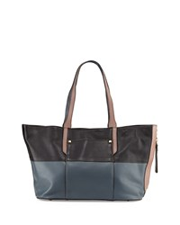 Tatiana Soft Pebble Tote Black Multi Oryany
