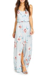 Show Me Your Mumu Women's Kendall Soft V Back A Line Gown