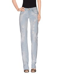 Fred Mello Denim Denim Trousers Women Blue
