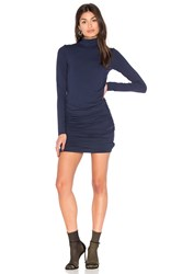 Twenty Turtleneck Bodycon Dress Blue