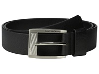 Stacy Adams 35Mm Full Grain Buffalo Black Men's Belts