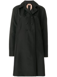 N 21 No21 Double Breasted Coat Black