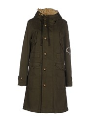 Nolita Coats And Jackets Coats Women Military Green