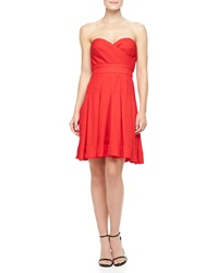 Catherine Malandrino Benita Strapless Sweetheart Dress 12