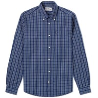 Barbour Highland Check 23 Tailored Shirt Blue
