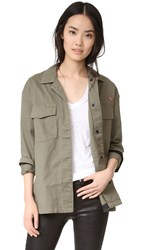 Rag And Bone Irving Shirt Jacket Army Green