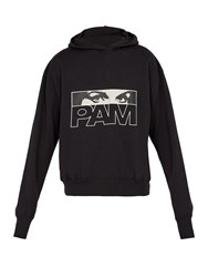 Pam Maiden Logo Hooded Sweatshirt Black