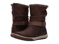 Ecco Chase Ii Slouch Gtx Cocoa Brown Cocoa Brown Women's Boots Bronze