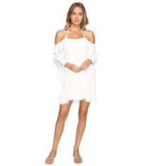 L Space Oracle Dress Cover Up Ivory Women's Swimwear White