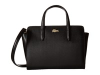 Lacoste Xs Shopping Bag Black 2 Tote Handbags