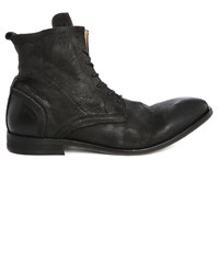 Hudson Black Swathmore Suede Laced Boots