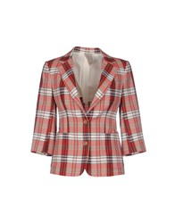 People Suits And Jackets Blazers Women Red