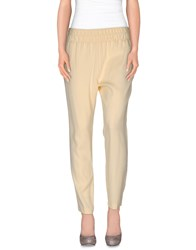 Cristinaeffe Trousers Casual Trousers Women Light Yellow