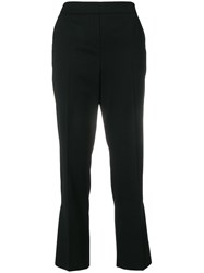 Dorothee Schumacher Cropped Flared Trousers Black