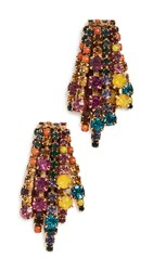 Elizabeth Cole Bette Earrings Multi