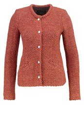 Set Cardigan Light Rust Light Red