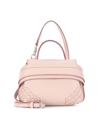 Tod's Wave Micro Leather Tote Pink