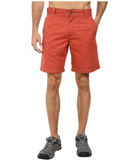 Royal Robbins Convoy Short Brick Men's Shorts Red