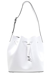 Abro Handbag White Black
