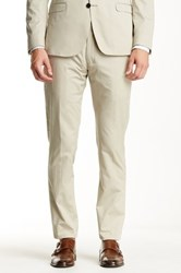 Ben Sherman Super Slim Fit Pant Beige