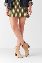 Urban Outfitters Boro Western Ankle Boot Taupe