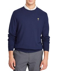 Ralph Lauren Sunday Ryder Cup Wool Golf Sweater Navy