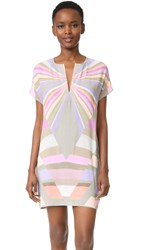 Mara Hoffman Prism Tunic Dress Lavender