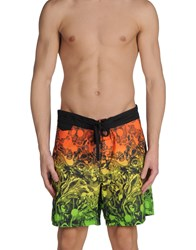 0051 Insight Swimwear Swimming Trunks Men Orange