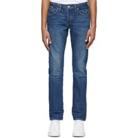 Re Done Blue Slim Fit Jeans
