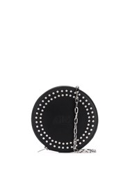 Mcq By Alexander Mcqueen Circle Studded Pouch Bag Black