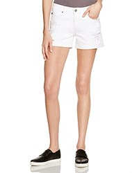 Ag Jeans Ag Hailey Denim Shorts In Clean White
