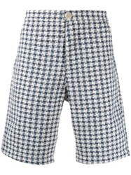 Oliver Spencer Linton Chino Shorts Blue