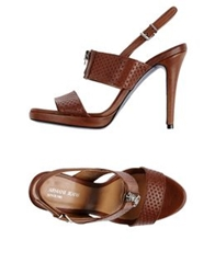 Armani Jeans Sandals Brown