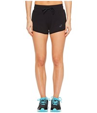 Asics Knit Shorts Performance Black Women's Shorts