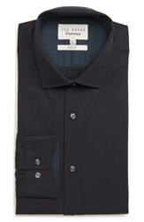 Ted Baker London Endurance Bookers Slim Fit Solid Dress Shirt