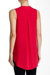 Lush V Neck Tank Juniors Pink