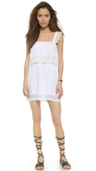 Liv Perry Tiered Dress Ivory